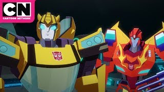 Search for StarScream | Transformers Cyberverse | Cartoon Network