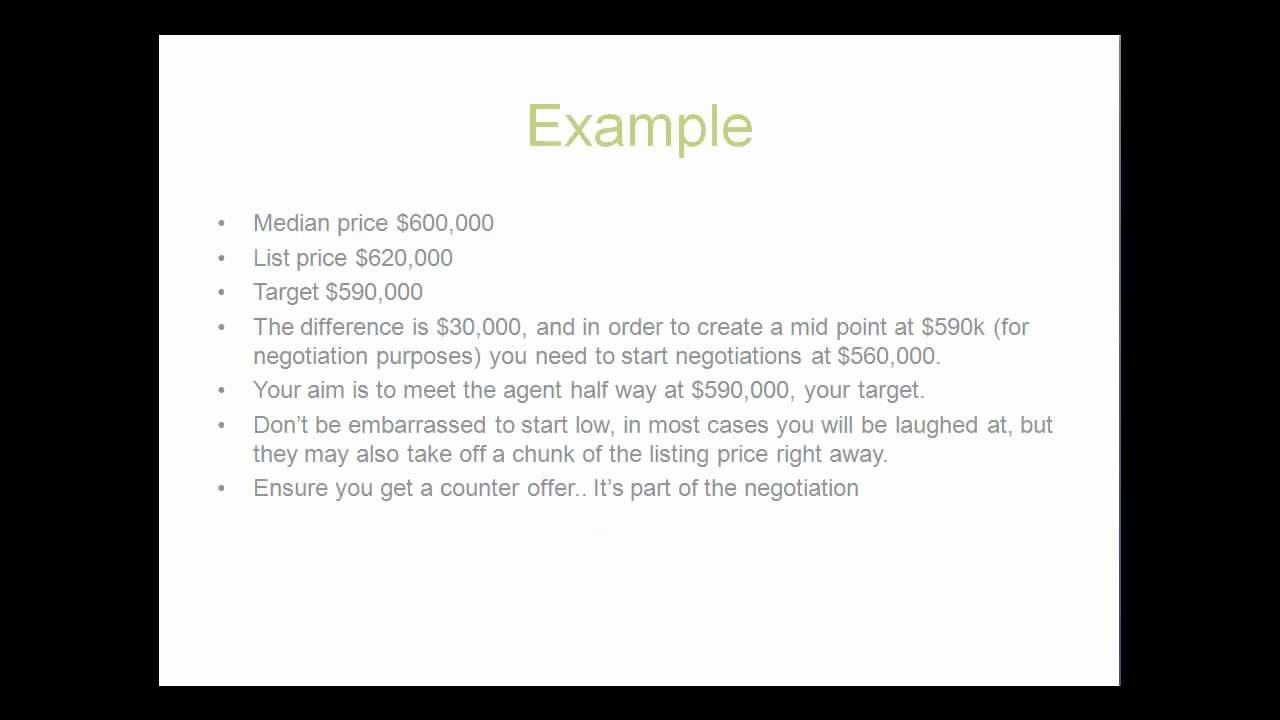 how to negotiate price on a property purchase how to negotiate price on a property purchase