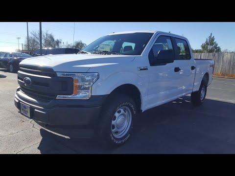 2019 Ford F150 XL Work Truck - Oxford White - 5.0 V8 - 4x4