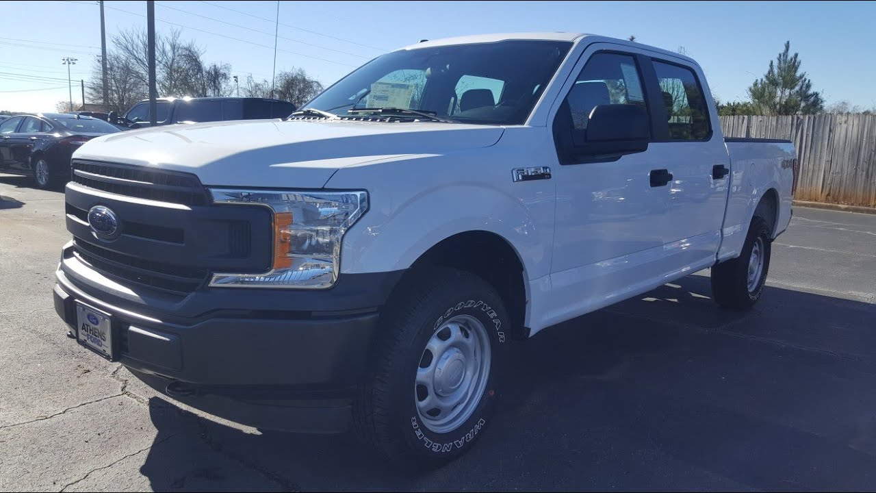 ford  xl work truck oxford white    youtube