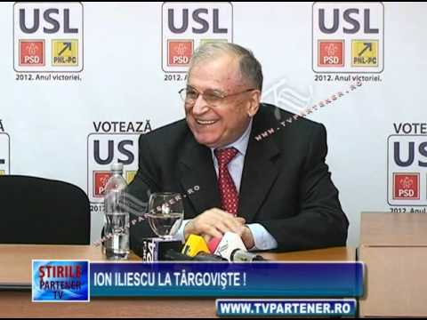Ion Iliescu la Târgovişte !