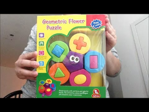 Flower Geometric Puzzle by Wishtime REVIEW