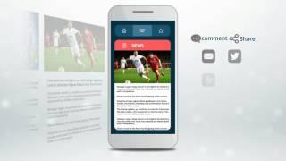 Mobile App Demo video