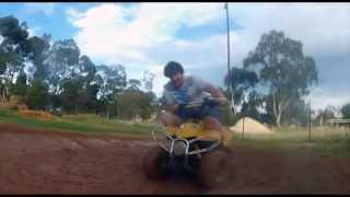 MINI QUAD BIKE IN MUD - GOPRO HD HERO