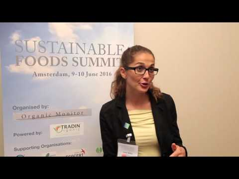 Ursula Bittner, Danube Soya, Sustainable Foods Summit EU 2016