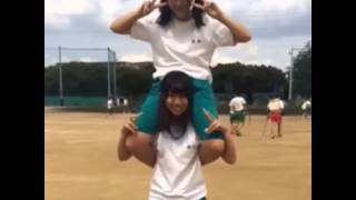 Video 【Lift and Carry】Japanese girls shoulder lift download MP3, 3GP, MP4, WEBM, AVI, FLV Oktober 2018
