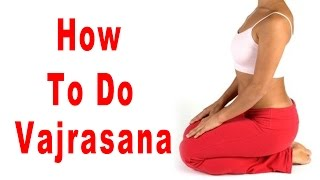 Yoga for Beginners | How to do Vajrasana | Hindi Yoga Tutorial