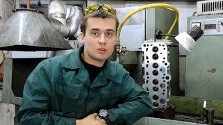видео Шлифовка головки блока цилиндров (ГБЦ)