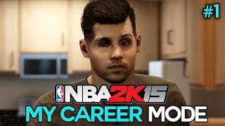 "NBA 2K15 My Career Mode - Ep. 1 - ""THE TRYOUT!"" [NBA MyCareer PS4/XBOX ONE/NEXT GEN Part 1]"