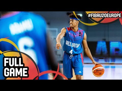 Azerbaijan v Great Britain - Full Game - FIBA U20 European Championship 2017 - DIV B