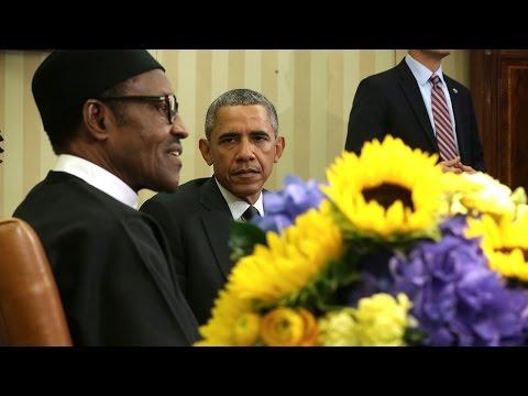 Nigerian president plagiarized Obama in speech