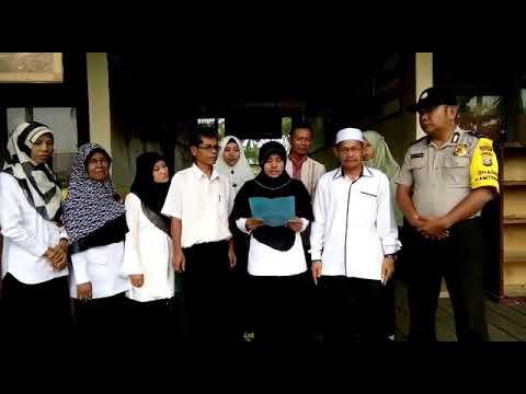 Deklarasi Anti Hoax Majelis Guru SMPN 2 Gaung Kec. Gaung Kab. Inhil