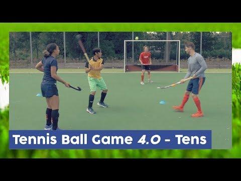 Tennis Ball Game 40 Tens - Field Hockey Game  Hockey Heroes TV