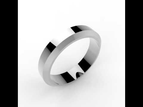 JewelryWe Bijoux Bague Femme Appariement Mat Brillant Gravure Personnaliser Alliance Acier Inoxydable Couples Anneaux avec Sac Cadeau Taille optionnelle