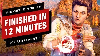 The Outer Worlds Can Be Beaten In 12 Minutes (CreeperHntr)