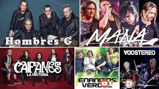 Enrique Bunbury, Caifanes, Enanitos Verdes, Mana, Soda Estereo - Rock en Espanol de los 80 y 90