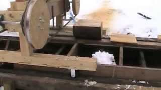 Homemade Sawmill On The Homestead