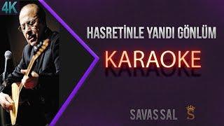 Hasretinle Yandı Gönlüm Karaoke 4K