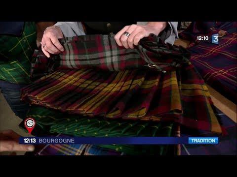 Morgan Albuisson : fabricant de kilts et vêtements celtiques en Saône-et-Loire