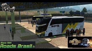 Euro Truck Simulator 2 Mod Bus e Mapa RBR - Viagem de Lorena p/Itatiaia