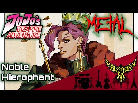 JoJo's Bizarre Adventure: Stardust Crusaders - Noble Hierophant 【Intense Symphonic Metal Cover】