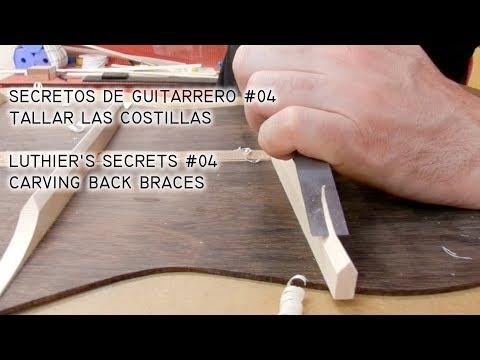 Secretos de Guitarrero #04 · Cómo tallar las costillas de la guitarra