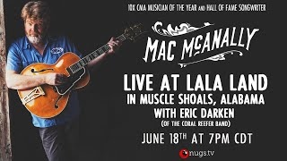 Mac McNally with Eric Darken Live At LALA Land in Muscle Shoals, AL