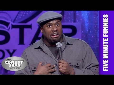 Corey Holcomb⎢I gotta do a current event joke... I guess!⎢Shaq's Five Minute Funnies⎢Comedy Shaq
