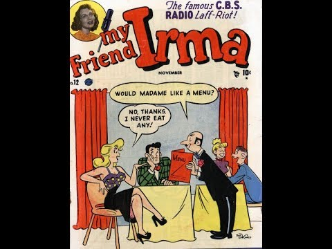 """My Friend Irma  -  """"Five Hundred Dollars""""  03/07/49 (HQ) Old Time Radio/Comedy"""