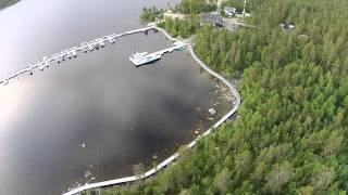 Загородный клуб водномоторников Ристикент Квадрокоптер / The Ristikent Boat Club drone