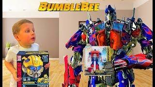 Трансформер Оптимус Прайм из фильма Бамблби 2018. BumbleBee Transformers 6