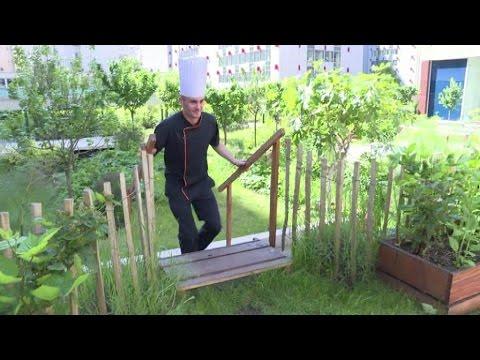 Des chefs cuisiniers adeptes des jardins sur les toits for Le jardin neufchatel sur aisne
