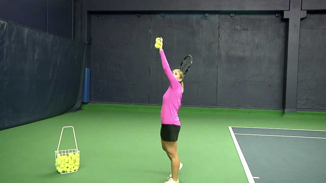how to perform a good tennis serve