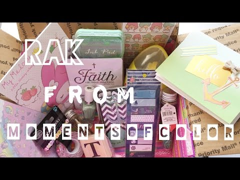 Happy Mail from Studiol2e & Rak from Moments of Color