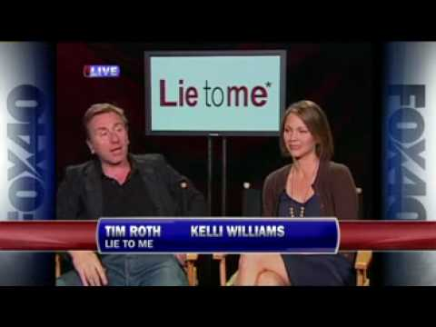 Lie to me* Tim Roth & Kelli Williams FOX40 So Cute!! Spring!