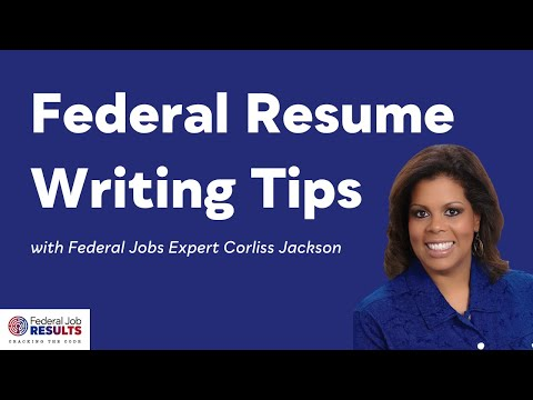 Step 1   Understanding The Federal Resume Format