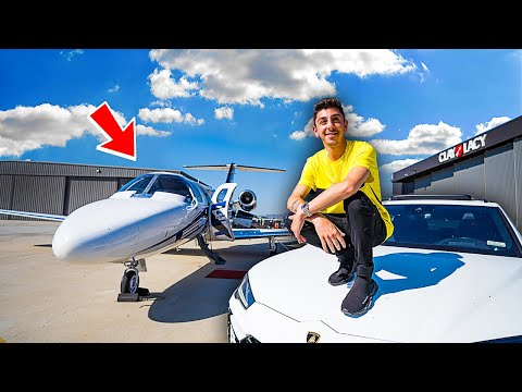 I BOUGHT A PRIVATE JET!!