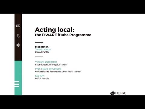 FIWARE SUMMIT'16 - ACTIN LOCAL - The FIWARE iHUBs Programme