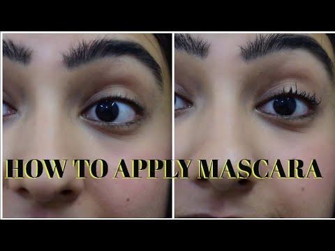 HOW TO APPLY MASCARA+TIPS&TRICKS - #9daysofnavratri