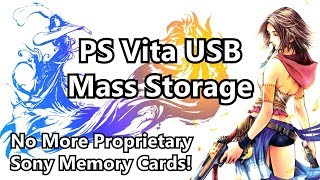 Vita USB Mass Storage: Install Games to USB on PSTV