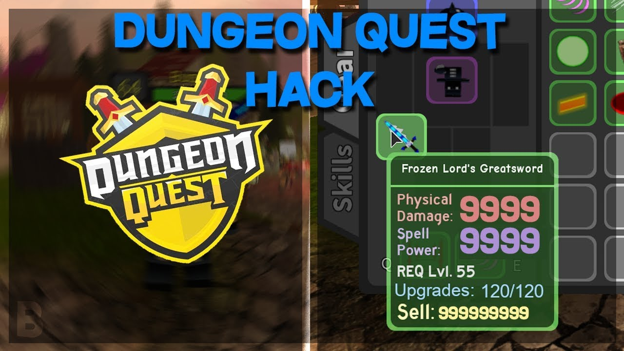 New Dungeon Quest Ultimate Ability Spam Gui Script Hack