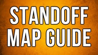 Black Ops 2 In Depth - Standoff Map Guide (Spawns, Lines of Sight, Jumps)