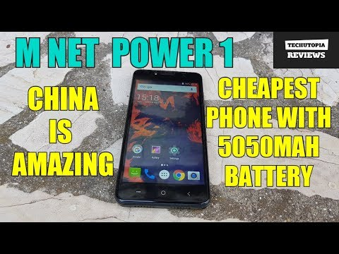 M-Net Power 1 Review/Hands on/Gaming/Camera test(Best phone for $50 with big battery/SOT)