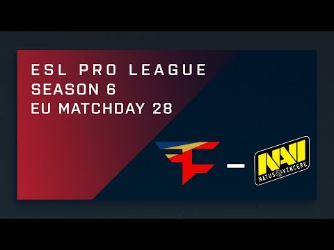 CS:GO: FaZe vs. NaVi - EU Day 28 - ESL Pro League Season 6