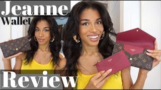 Video LOUIS VUITTON JEANNE WALLET REVIEW  |  First Impressions, What Fits + Thoughts!  |  KWSHOPS download MP3, 3GP, MP4, WEBM, AVI, FLV Agustus 2018