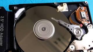 Beispiel einer defekten Festplatte