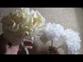DIY Bloemen maken van servetten! :)