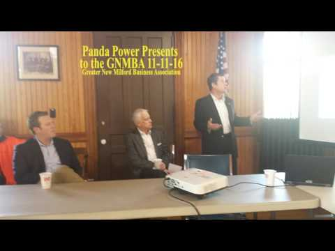 New Milford Connecticut Panda GNMBA Presentation 11-11-16