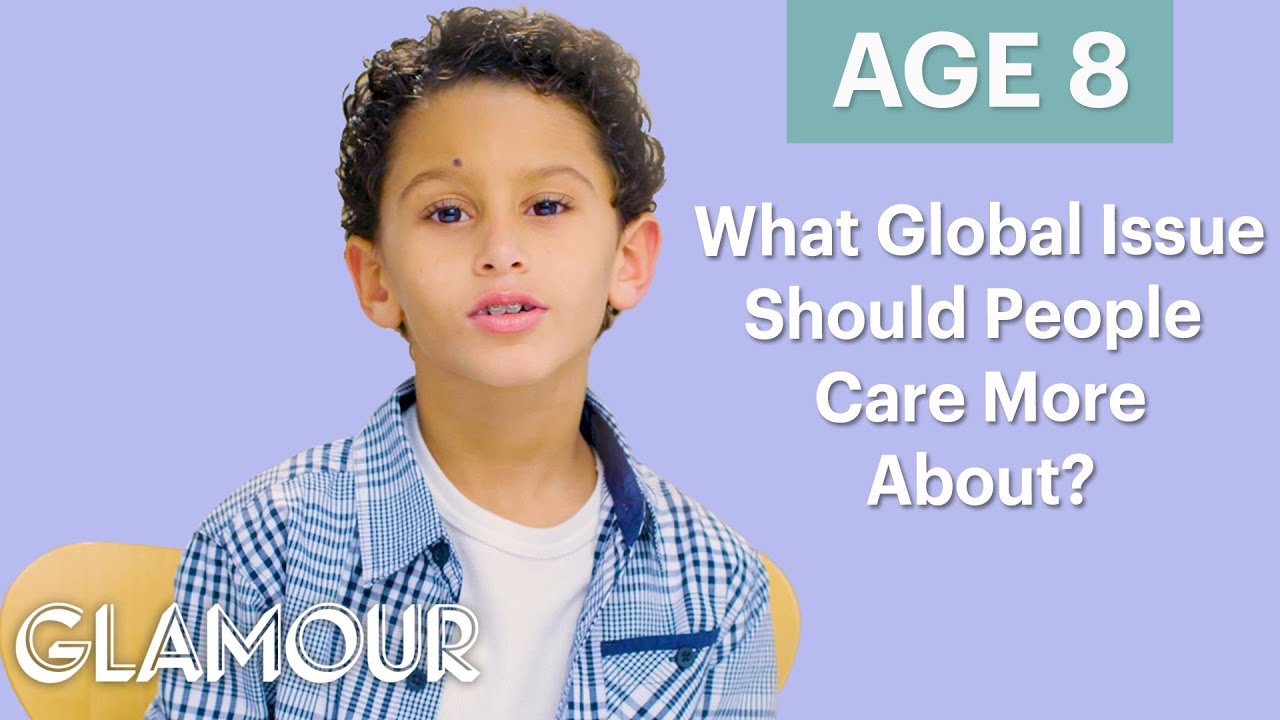 Men Ages 5-75: What Global Issue Should People Care About More? | Glamour