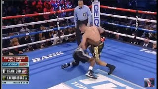 Terence Crawford vs Egidijus Kavaliauskas Full Fight HD - Interviews and Highlights